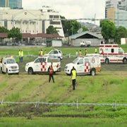 سقوط دو مسافرقاچاقی از هواپیمایی - اکوآدور
