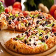 پیتزا سبزیجات - پیتزا