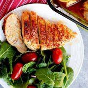 خوراک مرغ فلفلی